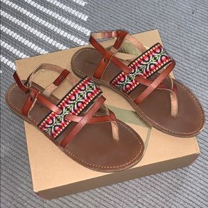 Patterned mossimo supply co sandals
